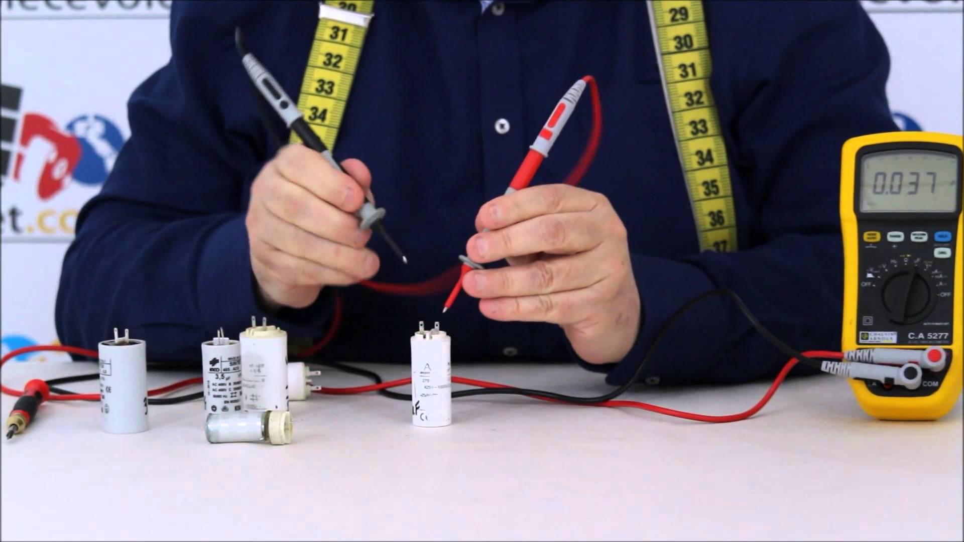 Comment tester un condensateur une mise en oeuvre for Controler un condensateur avec un multimetre