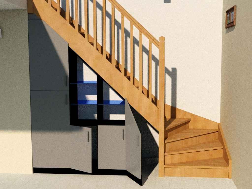 Placard sous escalier : une solution pratique et efficace
