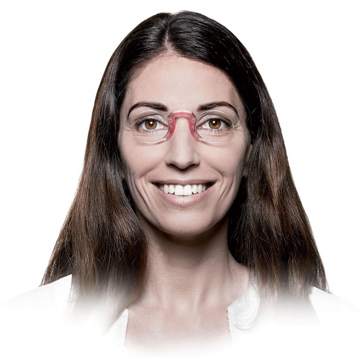 Porter des lunettes pour voir de près
